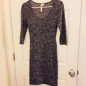 Marled Gray Dress